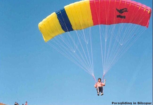 Paragliding Bandla Valley Bilaspur